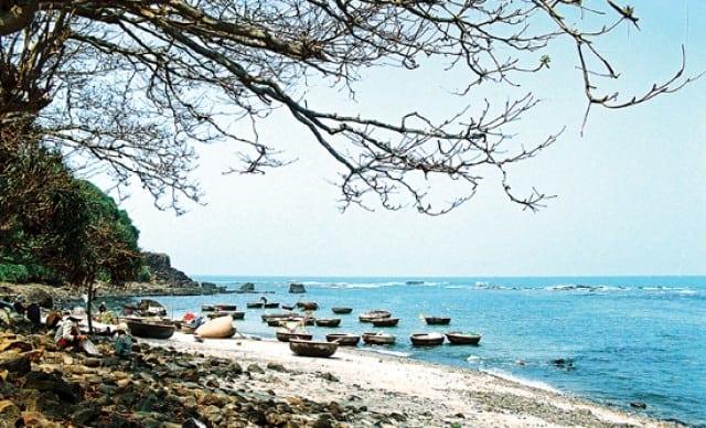 Vẻ đẹp thơ mộng trên bờ biển Ba Tân Gân. (Ảnh ST)