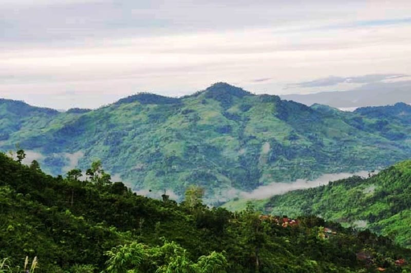 Phong cảnh đẹp không thua gì các địa điểm du lịch vùng núi nổi tiếng (Ảnh: ST)