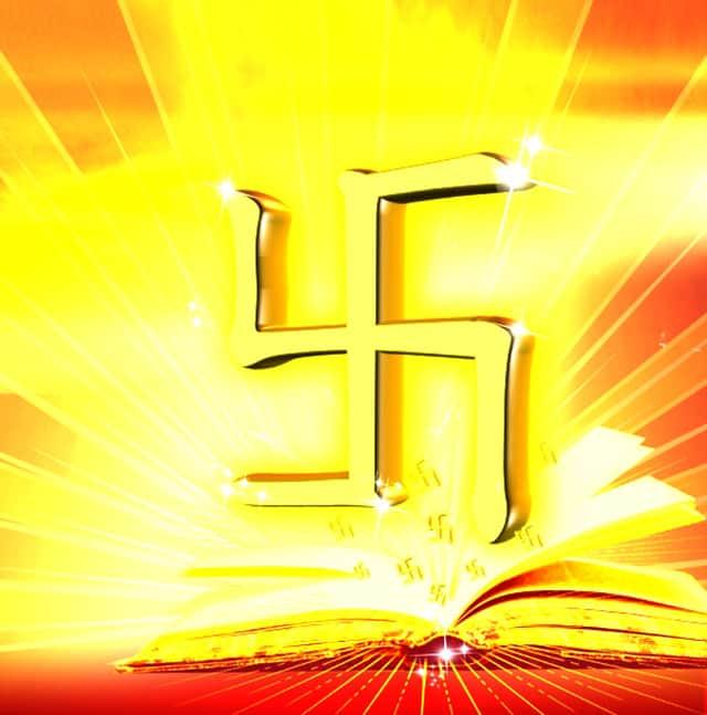 """Biểu tượng chữ """"vạn"""" trong đạo Phật"""