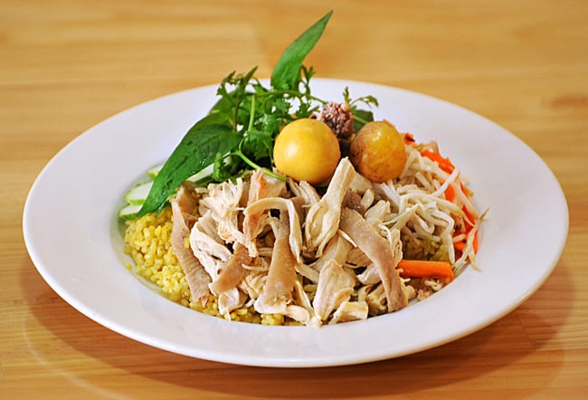 Món cơm gà ngon nức tiếng Tuy Hòa (Ảnh: ST)