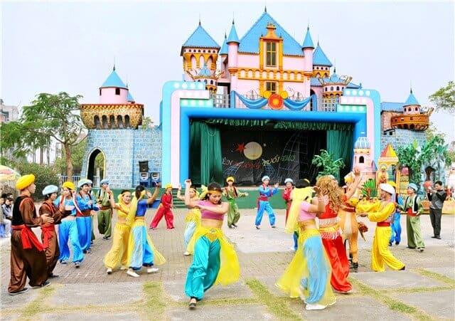 Lễ hội trung thu ở công viên nước hồ Tây