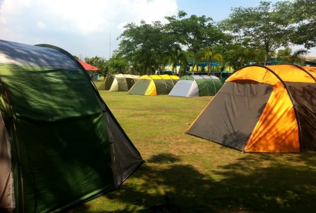 Khu cắm trại tại The BCR