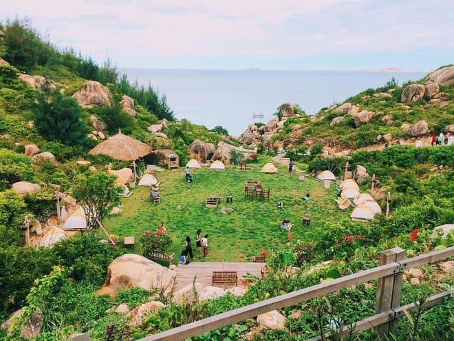 Khu dã ngoại Trung Lương được quy hoạch trở thành điểm cắm trại cho người dân và du khách (Ảnh sưu tầm)