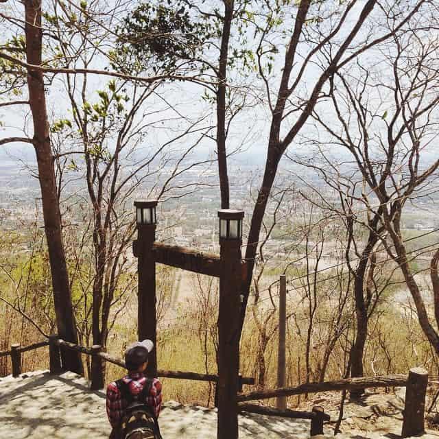 Điểm check- in sống ảo của nhiều bạn trẻ khi đến Núi Thị Vải