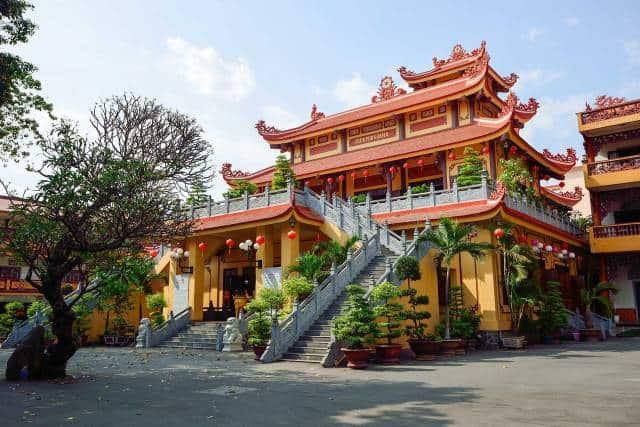 Ngôi chùa có diện mạo khang trang