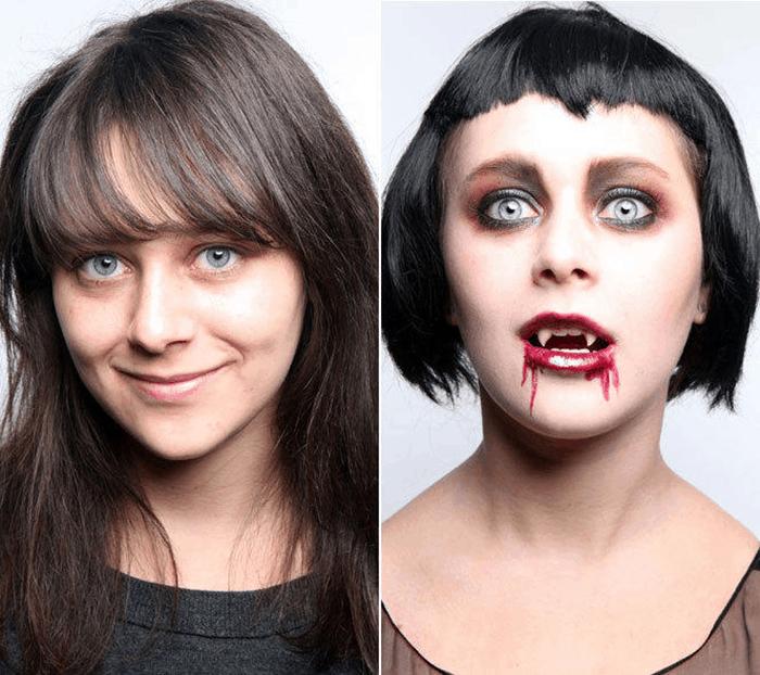 Hướng dẫn hóa trang Halloween CỰC KÌ ĐƠN GIẢN ai cũng có thể làm được