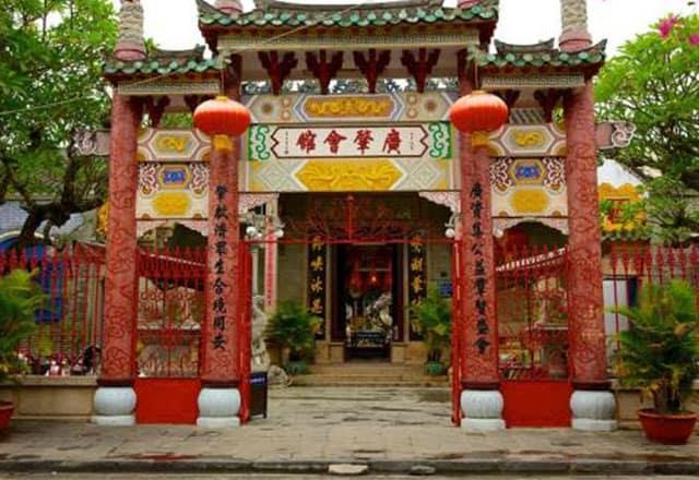 Hội quán Quảng Đông (Ảnh: ST)