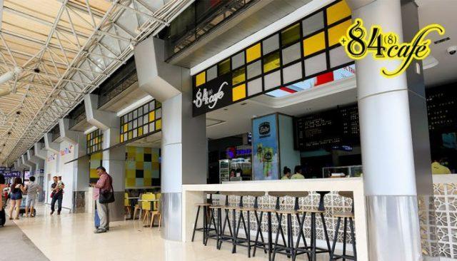 84 Cafe - Ga nội địa sân bay Tân Sơn Nhất