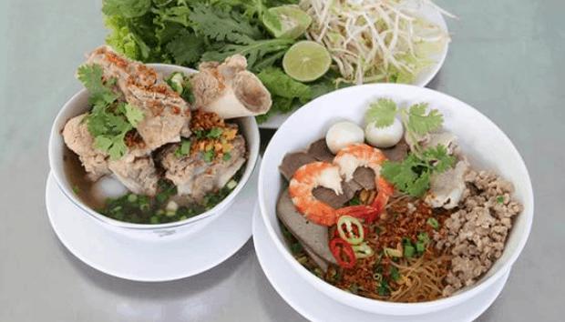 Hủ tiếu Nam vang là một món đặc sản Sài Gòn (Ảnh ST)