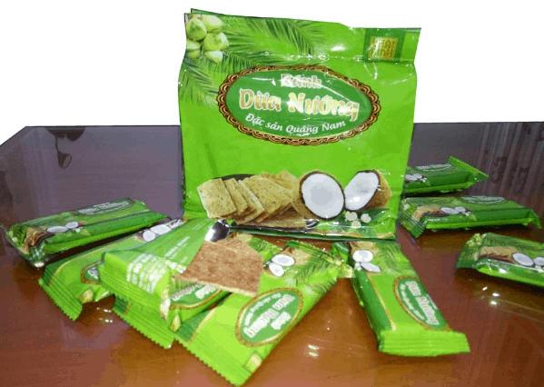 Bánh dừa nướng (Ảnh ST)