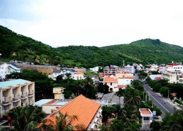 Quang cảnh nhìn từ khách sạn