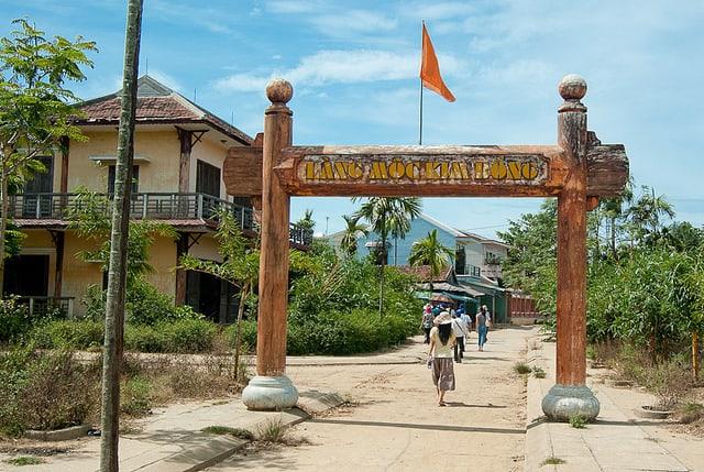 Lạc vào xứ sở làng Mộc Kim Bồng Hội An (Ảnh sưu tầm)