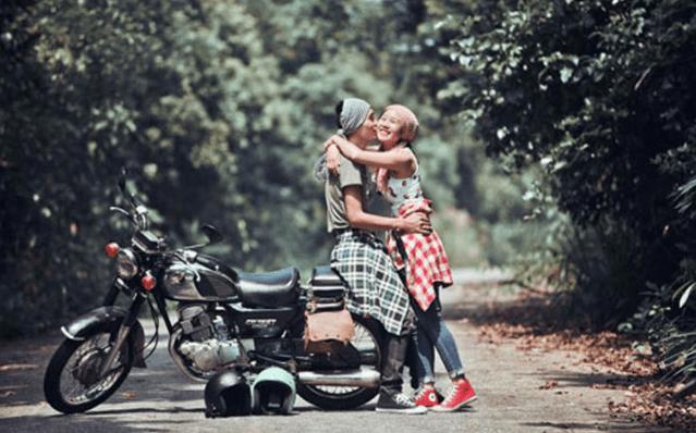 Du lịch bằng xe máy sẽ đem lại cho bạn một cảm giác mới lại