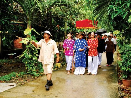 Một ngày làm điền chủ tại làng du lịch sinh thái Mỹ Khánh
