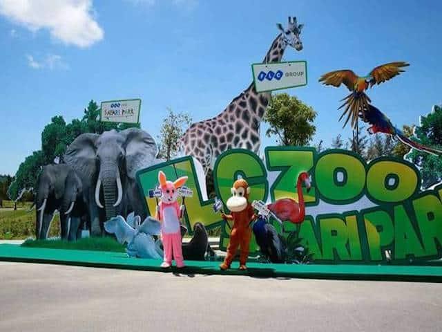 Vườn thú FLC Zoo Safari Quy Nhơn (Ảnh sưu tầm)