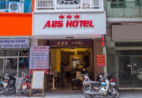 Khách sạn A25 Mạc Thị Bưởi