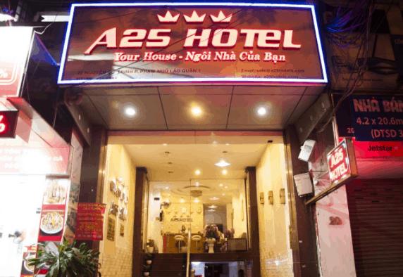 Khách sạn A25 Nguyễn Cư Trinh