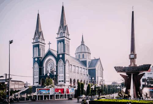 Nhà thời chánh tòa giáo phận Phú Cường