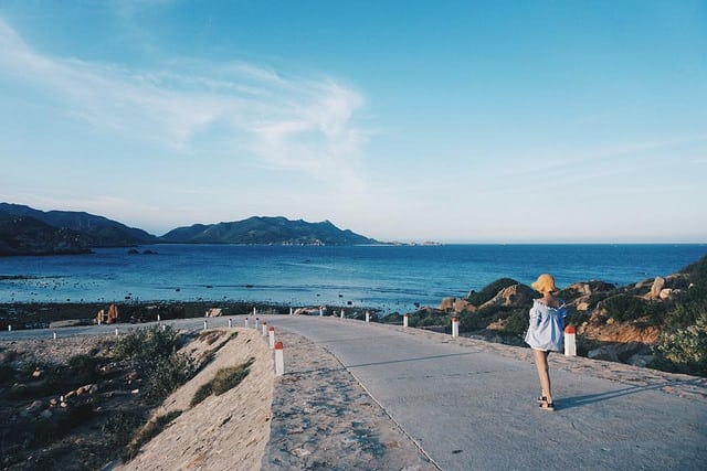 Bãi biển Bình Ba. (Ảnh ST)