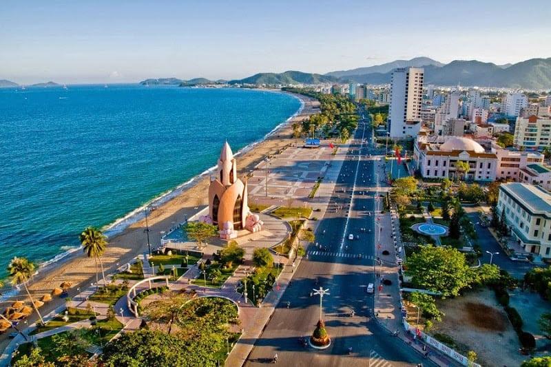 Một góc nhỏ của thành phố Nha Trang chụp từ trên cao. (Ảnh ST)