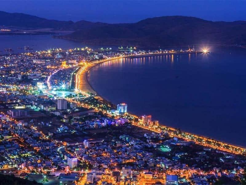Toàn cảnh thành phố Quy Nhơn - Bình Định. (Ảnh ST)