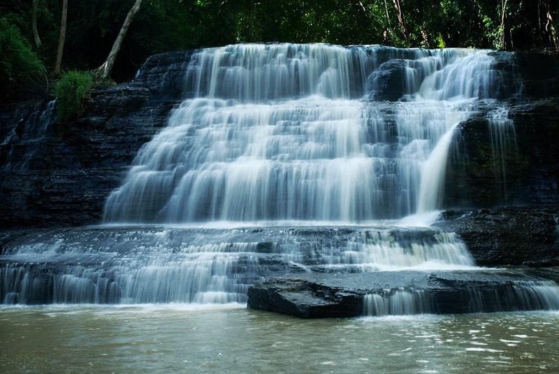 Một vẻ đẹp tuyệt mỹ được chụp từ một thác nước ở Krông Năng. (Ảnh ST)