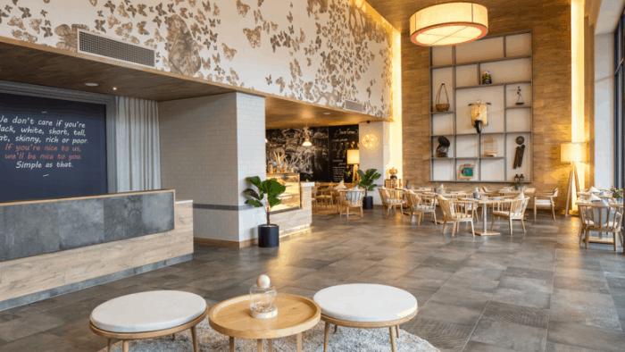 Hình ảnh sảnh chính khách sạn Fusion Suites