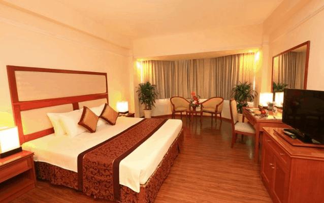 Không gian phòng nghỉ tại khách sạn Ramana Saigon