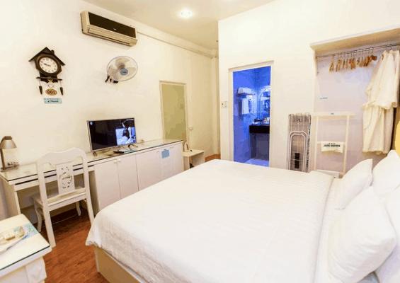 Không gian phòng nghỉ hiện đại tại khách sạn Sài Gòn Mini