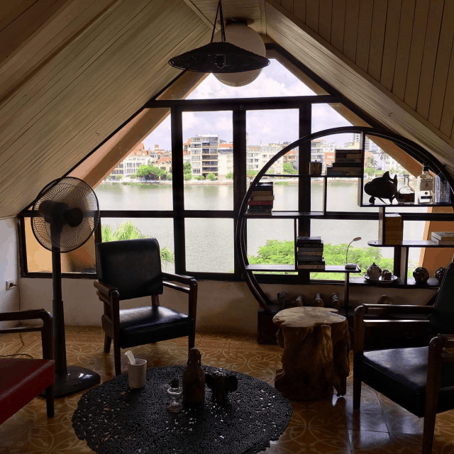 Quán cafe đẹp ở Hồ Tây