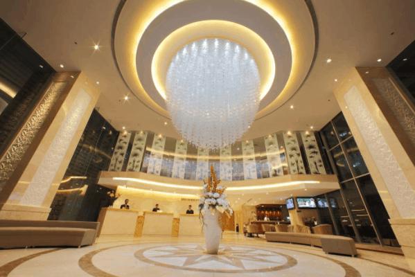 Sảnh chính khách sạn EdenStar Saigon