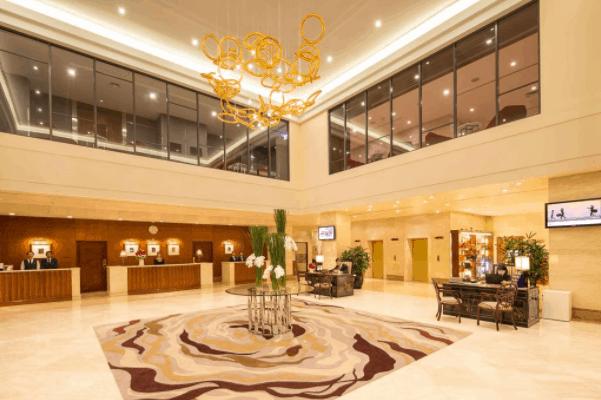 Sảnh đón khách ở Saigon Prince Hotel