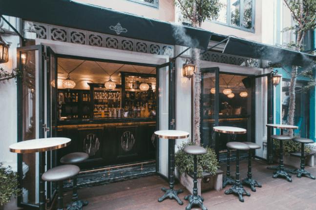Tại Saigon Garden có nhiều quán cafe nổi tiếng