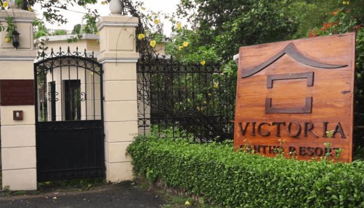 Cổng vào Victoria resort Cần Thơ (Ảnh ST)