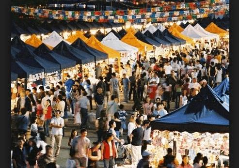 Chợ đêm Thủ Dầu Một
