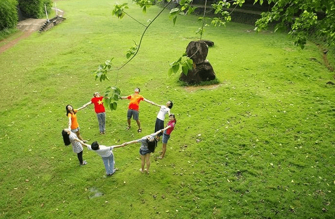 Hòa mình vào không gian xanh mát tại khu du lịch Cao Minh