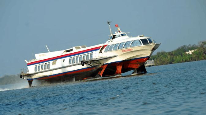Đi Côn Đảo bằng tàu cánh ngầm Vũng Tàu