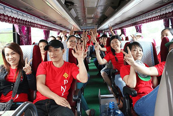 Tuyến xe khách chạy thẳng tới KDL sinh thái Cao Minh