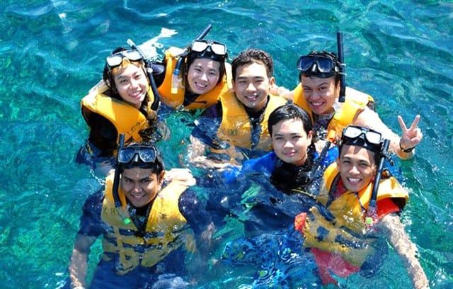 Lặn ống thở trên đảo (Ảnh ST)