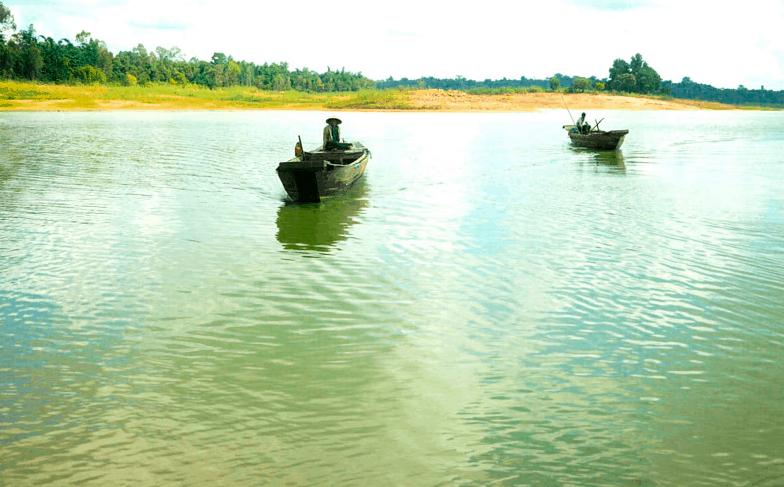 Ngắm đảo Cao Minh ngay giữa lòng hồ Trị An
