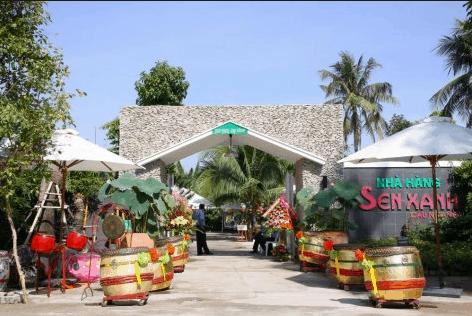 Nhà hàng Sen Xanh - Cầu Ngang