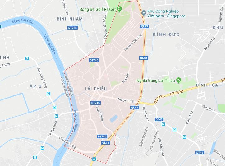 Hình ảnh thị trấn Lái Thiêu, huyện Thuận An, Bình Dương