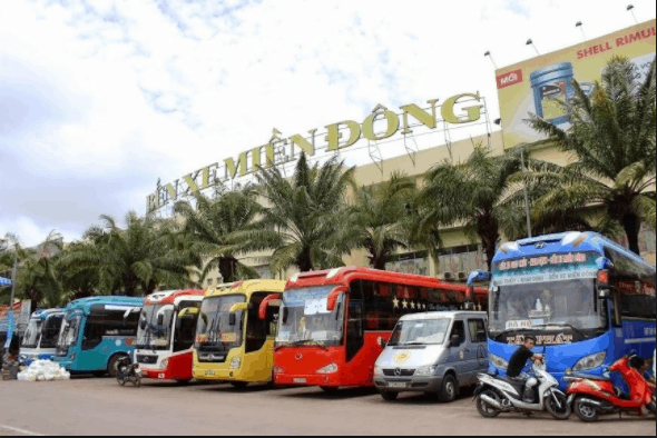 Bến xe Miền Đông thành phố Hồ Chí Minh