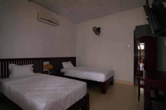 Phòng nghỉ an toàn và sạch sẽ