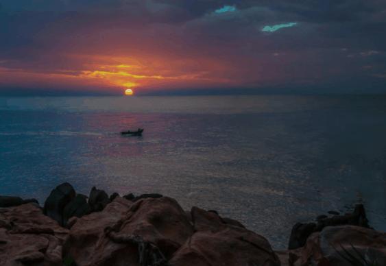 Cảnh tượng thơ mộng nhất không thể bỏ qua ở mũi Kê Gà