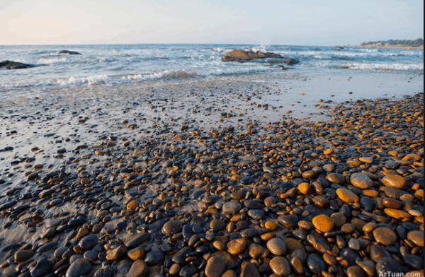 Vẻ đẹp không nơi nào có ở biển Cổ Thạch