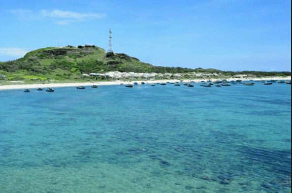 Không gian yên bình trên đảo Phú Quý