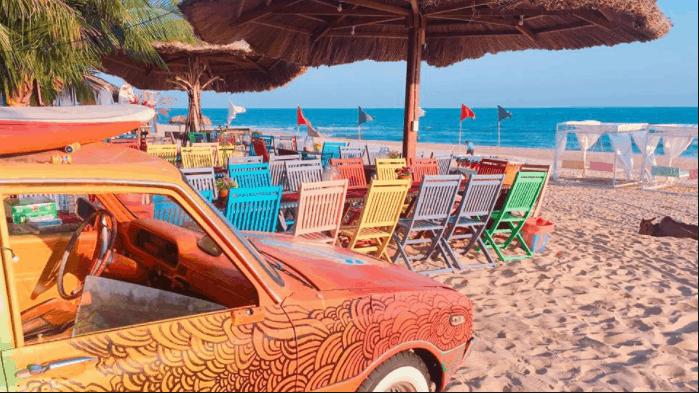 Khu du lịch Coco Beach Camp ngập tràn màu sắc