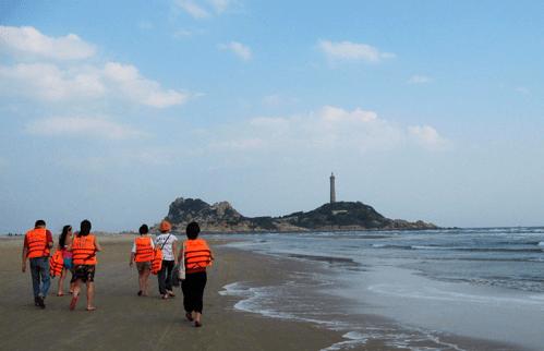 Dạo biển mũi Kê Gà