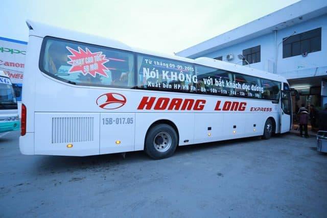 Xe khách Hoàng Long (Ảnh ST)